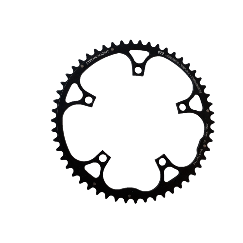 Stronglight CT2 53 teeth chainring 9/10 speed