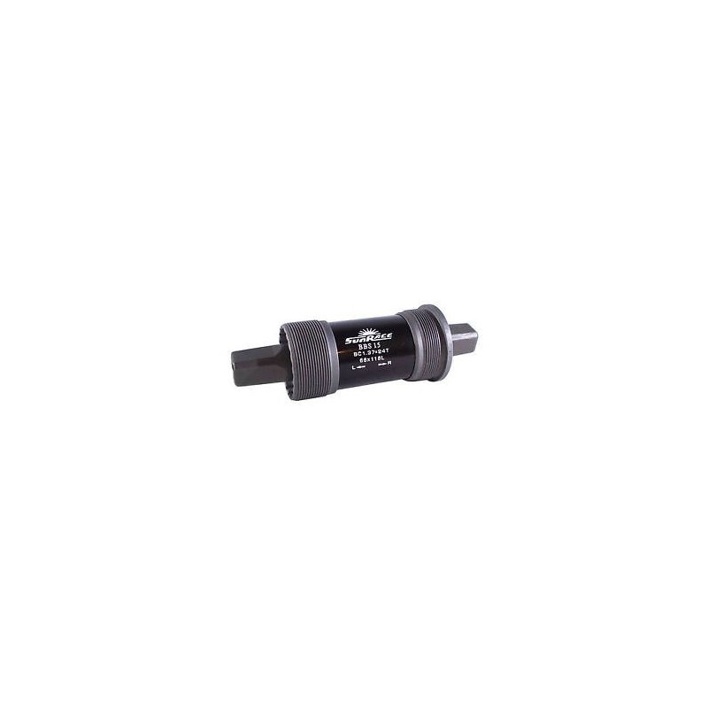 boitier pedalier vtt Sunrace BBS 15 carré 116/68 mm