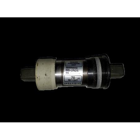 boitier pedalier shimano BB-UN25 carré 113 mm