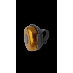 Aluminium anodised ring bell yellow
