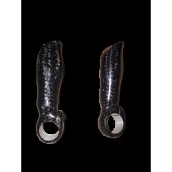 Embouts de guidon VTT carbone Rook parts