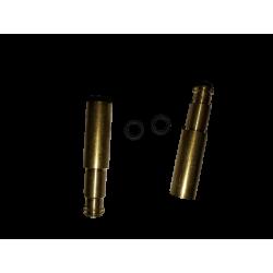 2 prolongateurs de valve presta 17 mm