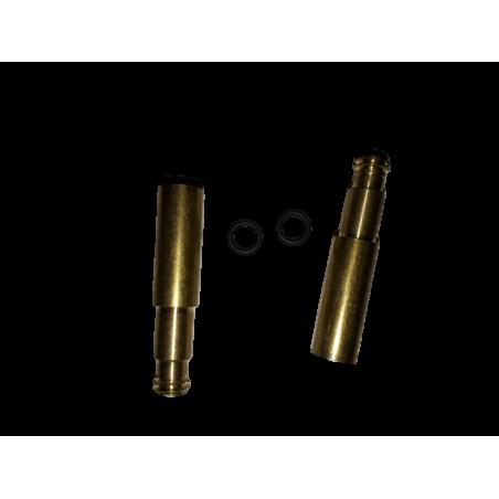 2 presta valve extensions 17 mm