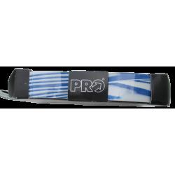 Handlebar tape white blue PRO