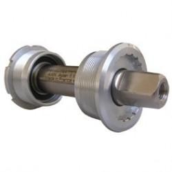 Axe pedalier TA Axix Light pro titane 110 mm/68 mm