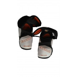 Easton Synergy 300 hockey shin knee pads size L used