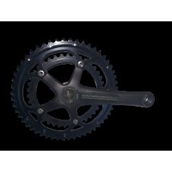 manivelle vélo route droite Campagnolo Mirage 172.5mm 39 53