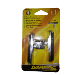 Mafac 2 brake pads with screws for v brake