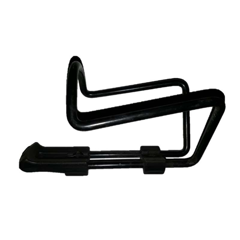 Aluminium bottle cage used for bike