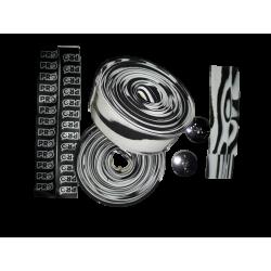 Guidoline Pro Race Bike Gear blanc & noire pour velo de route