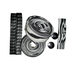 Handlebar tape Pro Race Bike Gear white & black