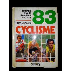 """Livre """"une saison de cyclisme 83"""" occasion"""