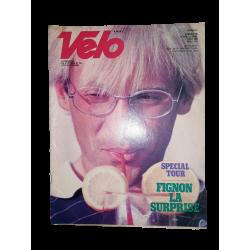 """Magazine """"Vélo"""", numéro 180, août 1983, Laurent Fignon en couverture, occasion en bon état."""