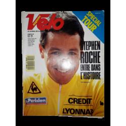 """Magazine """"Velo magazine"""" n°223 aout 1987"""