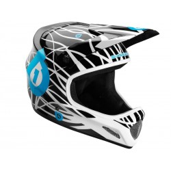 Casque integral VTT BMX 661 sixsixone evolution wired taille S