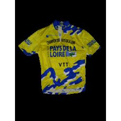 Maillot cycliste champion des pays de la loire VTT taille 3
