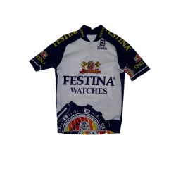 maillot cycliste pro Festina Sibille occasion