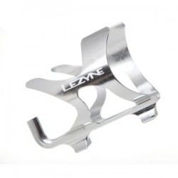 Lezyne aluminium bottle cage for bike