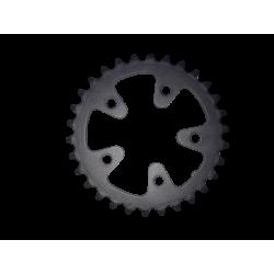plateau vtt shimano 30 dents type A 8/9 vitesses 74 mm occasion