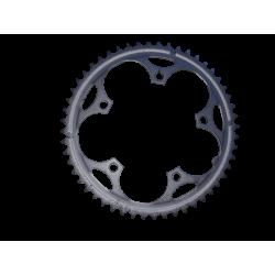Plateau 52 dents acier 7/8/9 vitesses 130 mm