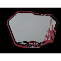 BMX race plate Nico Design