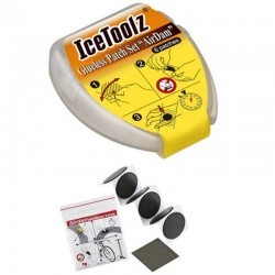 Icetoolz 6 patches kit self-adhesives