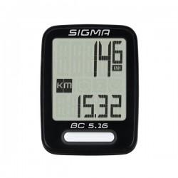Compteur vélo Sigma BC 5.16 5 fonctions