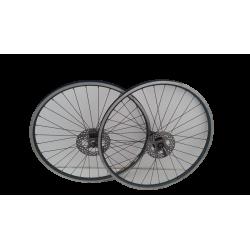 """Mavic 217 paire de roues 26"""" 9v disques brubz 2"""