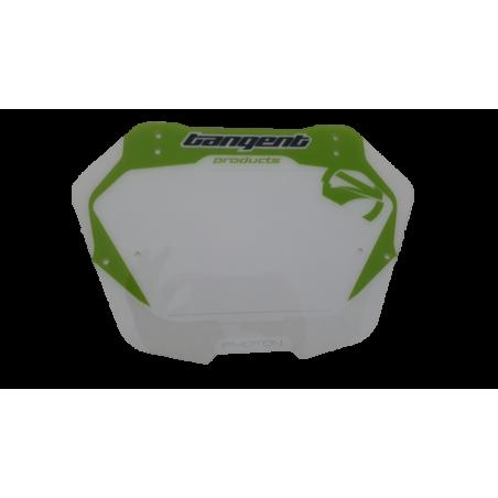 Tangent photon BMX green plate for handlebar