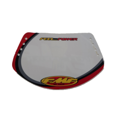 FMF BMX race plate Team Red Expert