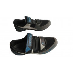 chaussure velo occasion de route Decathlon 600 racing taille 44