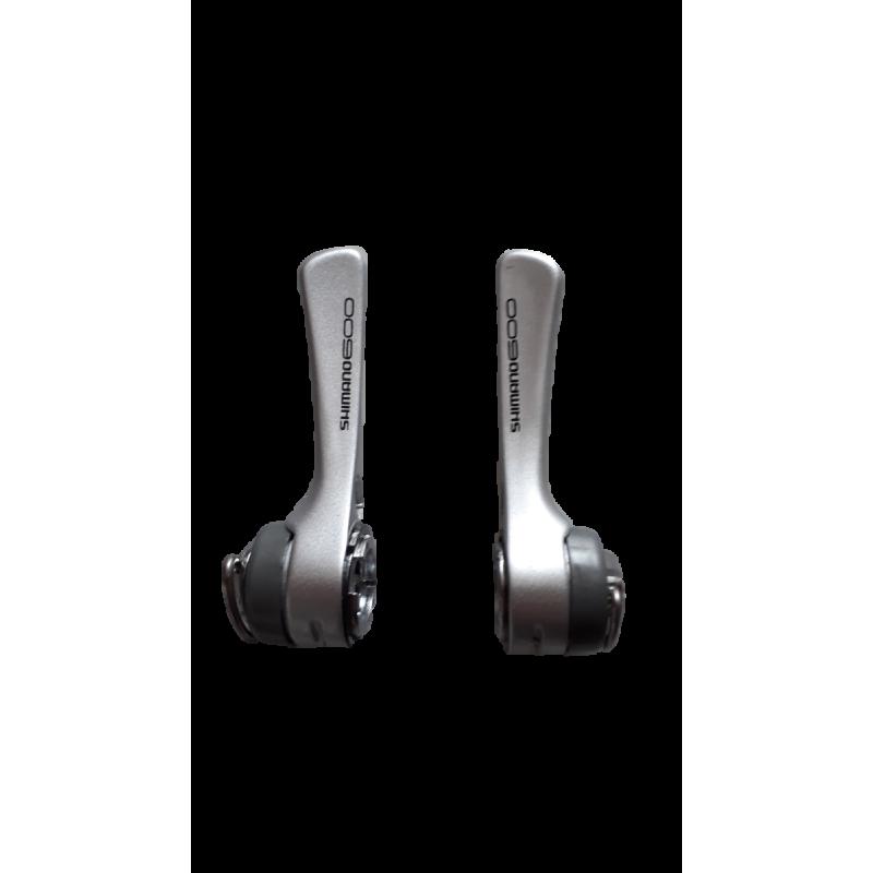 Leviers de vitesses Shimano 600 SL-6401 2x8v sans cales