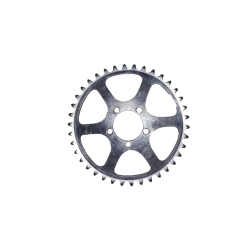 Inner chainring TA PRO 5 screws 38 teeth 50.4 mm used