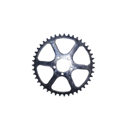 Outer chainring TA PRO 5 screws 43 teeth 50.4 mm velo