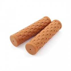 Grips Velo Orange basket weave brown 120 mm