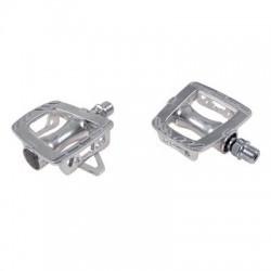 pedales de velo route fixie piste MKS GR-9 silver