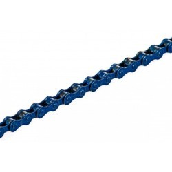 "KMC Z410 chain 1/2"" x 1/8"" 108 links blue single speed"
