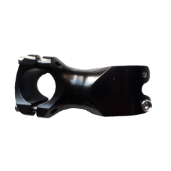 potence courte 60 mm extra+ aluminium anodisée noire