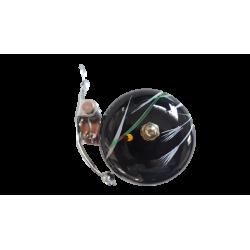 sonnette velo Crane Bell Suzu noire décorée à la main