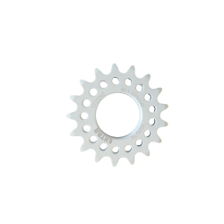 "Single speed sprocket Extra 17 teeth BC 1.37""x24T white"