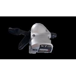 Commande gauche Shimano Deore LX SL-T 660 3 plateaux