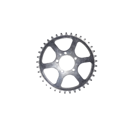 Inner chainring TA PRO 5 screws 37 teeth 50.4 mm used