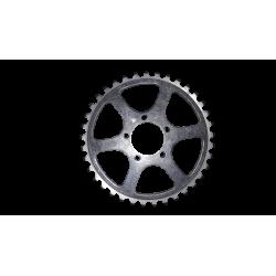 Inner chainring TA PRO 5 screws 37 teeth 50.4 mm used