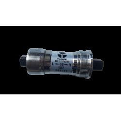 Boîtier de pédalier Tange carré BSA 107 mm