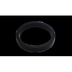 """Entretoise velo aluminium jeu de direction 1""""1/8 5 mm noire"""