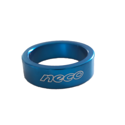 "Headset spacer aluminium blue 1""1/8 10 mm"