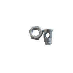 Bolt clamp cable for bicycle brake caliper