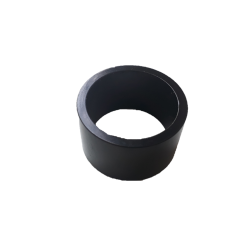 "Headset spacer aluminium black 1""1/8 20 mm"