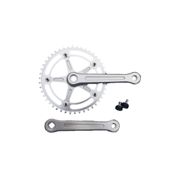 Extra+ Deluxe single speed crankset 165 mm 46 teeth alu