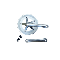 Extra+ Solid single speed crankset 165 mm 48 teeth alu